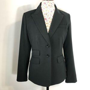 MODA international women's black blazer Sz 8